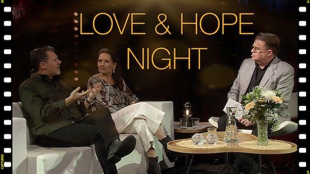 LOVE AND HOPE   LIVEKVÄLL