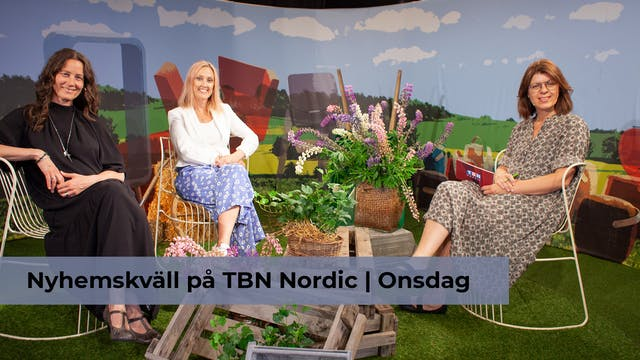 Nyhemskväll onsdag på TBN Nordic