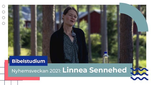 Bibelstudium onsdag Linnea Sennehed | Nyhemsveckan 2021