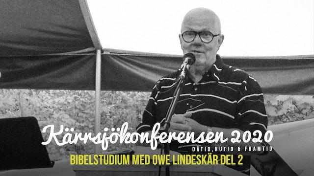 Fredag 15.00 - Bibelstudie | Kärrsjökonferensen 2020