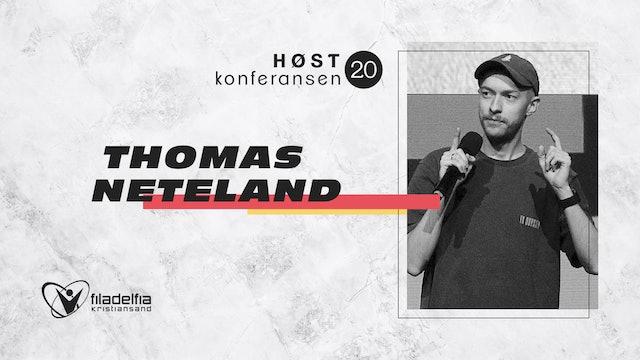 Thomas Neteland - Høstkonferansen -Fred 2130