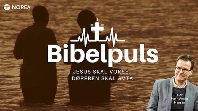 Bibelpuls 14 | Jesus skal vokse døper...