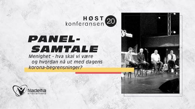 Panelsamtale - Høstkonferansen - Lør ...