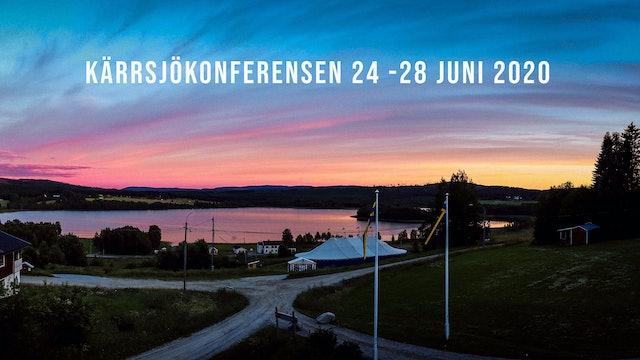 Kärrsjökonferensen 24-28 juni 2020