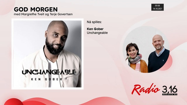 Radio 3,16 | 14 oktober 2021 - God Morgen med Margrethe og Terje