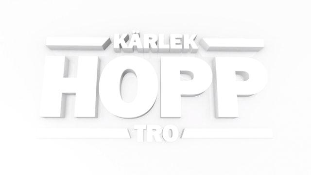 Hopp - gudstjänster på måndagar kl 21