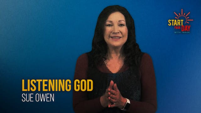 Listening God with Sue Owen