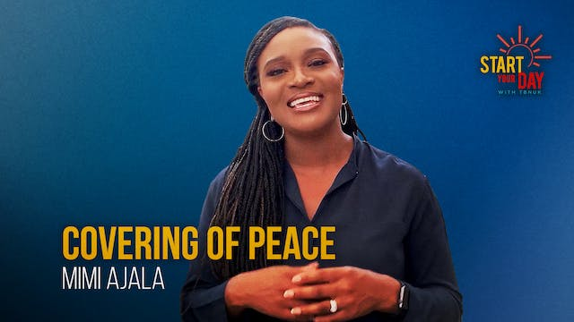 Covering of Peace with Mimi Ajala