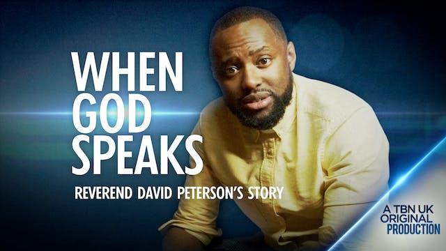When God Speaks: Rev David Peterson's...