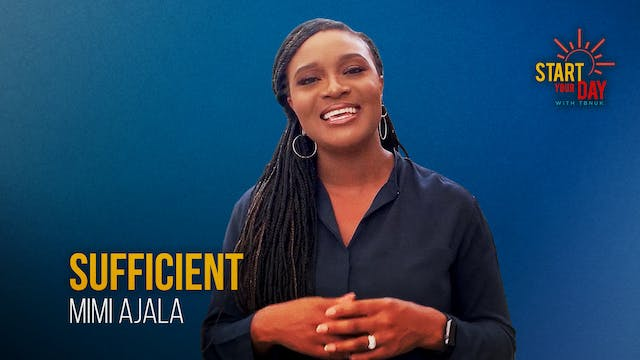 Sufficient with Mimi Ajala