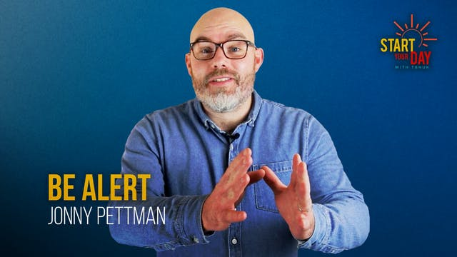 Be Alert with Jonny Pettman