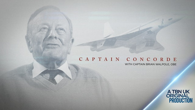 Captain Concorde with Captain Brian Walpole OBE