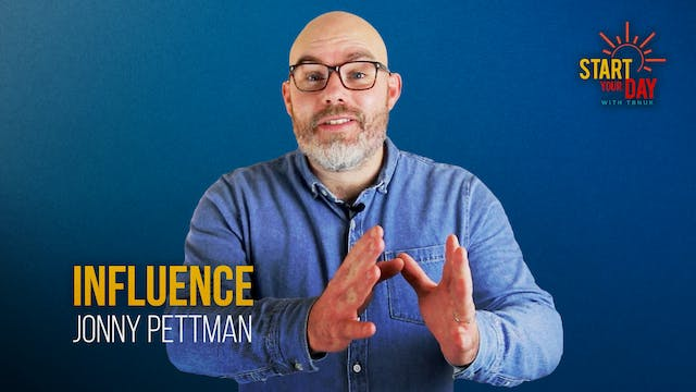 Influence with Jonny Pettman