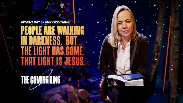 Advent 2020 - Dec 3rd: Amy Orr-Ewing