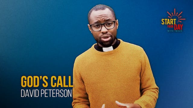 God's Call with David Peterson