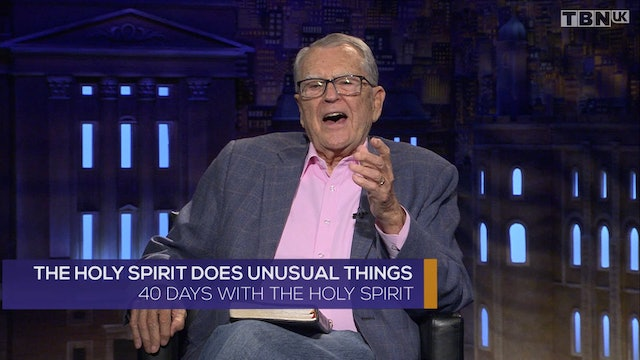The Holy Spirit Does Unusual Things