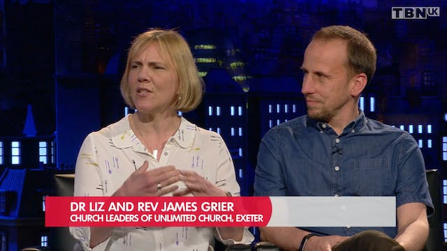 TBN Meets Liz and James Grier