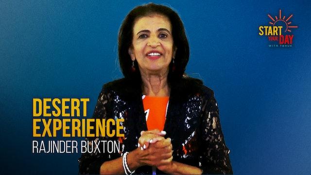 Desert Experience with Rajinder Buxton