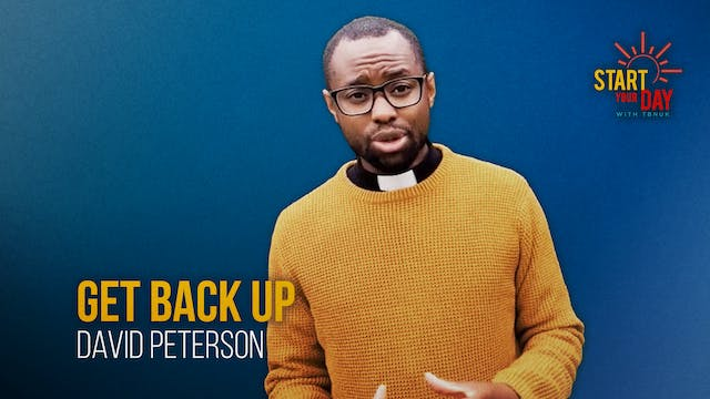 Get Back Up with David Peterson