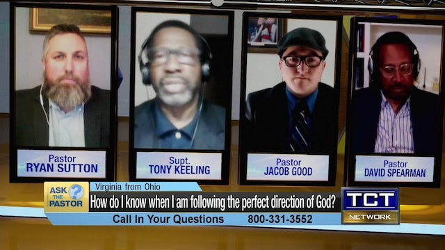 How do I know when I am following the perfect direction of God?   Ask the Pastor