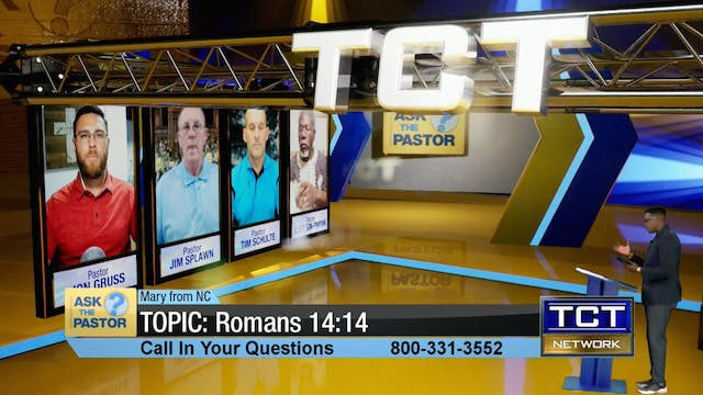 Topic: Romans 14:14 | Ask the Pastor