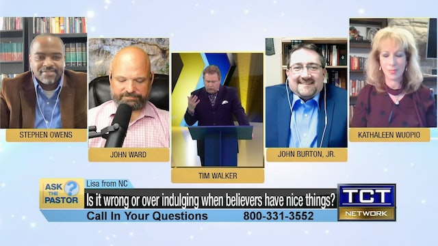 """""""Is it wrong or over indulging when believers have nice things"""" 