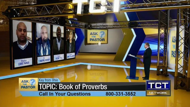 Topic: Book of Proverbs | Ask the Pastor