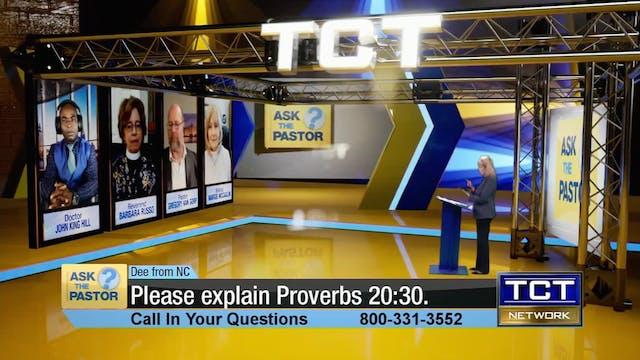 """Please explain Proverbs 20:30"" | Ask..."