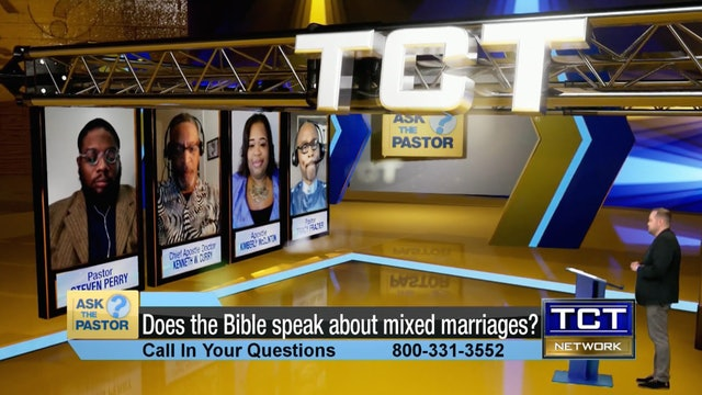 """""""Does the Bible speak about mixed marriages?"""" 