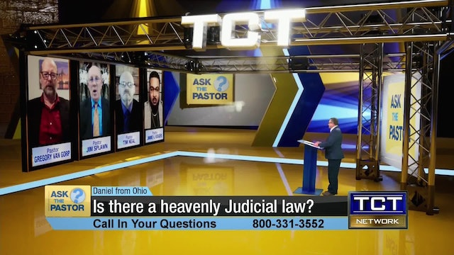 """Is there a heavenly Judicial law?"" 