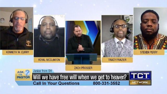 """""""Will we have free will when we get to heaven?"""" 