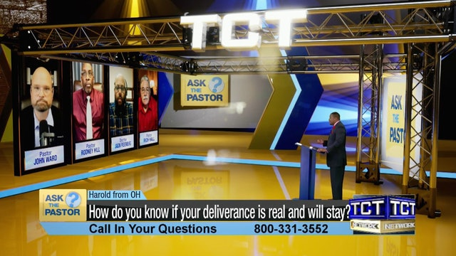 """""""How do you know if your deliverance is real and will stay?"""" 