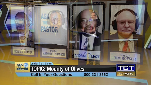 """Topic:  Mounty of Olives"" 