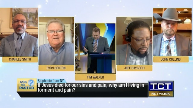 """If Jesus died for our sins and pain, why am I living in pain?"" 