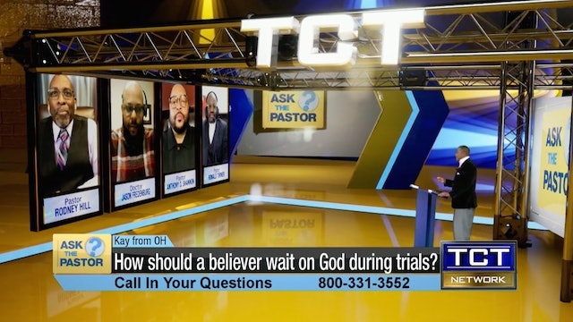 """""""How should a believer wait on God during trials?"""" 