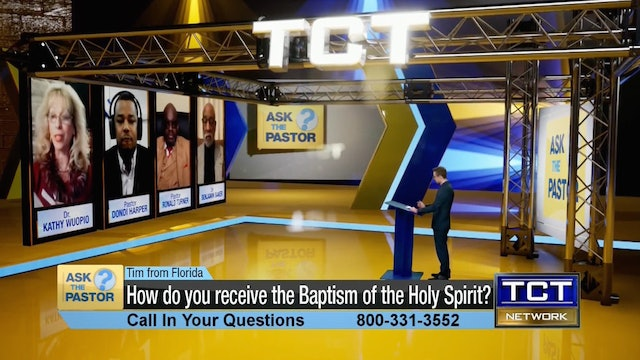 """How do you receive the Baptism of the Holy Spirit?"" 