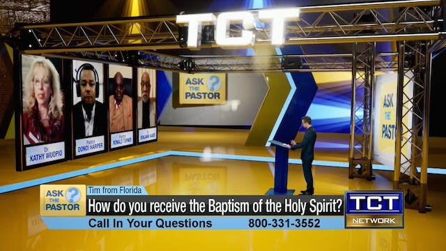"""How do you receive the Baptism of th..."