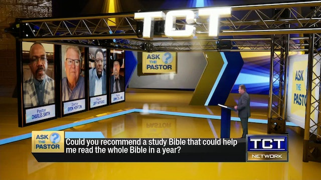 """Could you recommend a study Bible?"" 