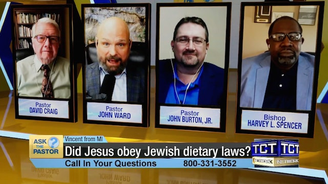 """""""Did Jesus obey Jewish dietary laws?"""" 
