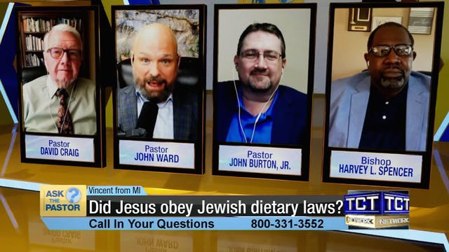 """""""Did Jesus obey Jewish dietary laws?""""..."""