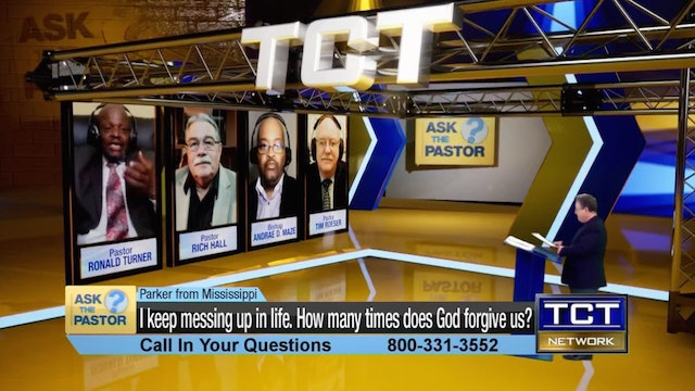 """""""I keep messing up in life. How many times does God forgive?"""" 