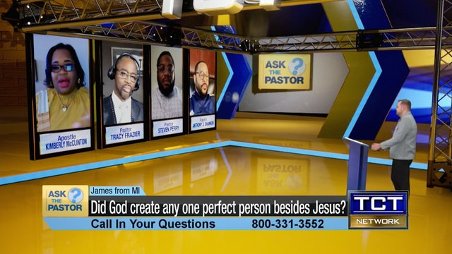 """""""Did God create any one perfect person besides Jesus?"""" 