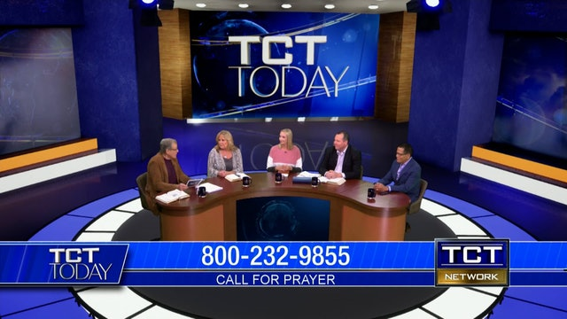 Dr. Garth Coonce, Tom & Heather Nolan, Julie Nolan, Dr. Larry Macon   TCT Today