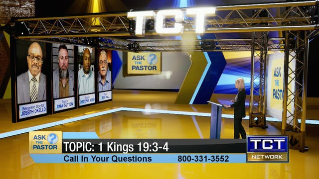 Topic: 1 Kings 19:3-4 | Ask the Pastor