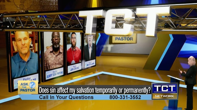 """""""Does sin affect my salvation temporarily or permanently?"""" 