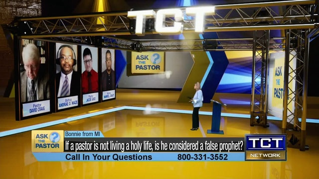 """""""If a pastor is not living a holy life, is he a false prophet?"""" 