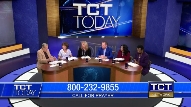 Drs. Garth and Tina Coonce, Tom Nolan, Dr. Lonnie and Frances Brown   TCT Today