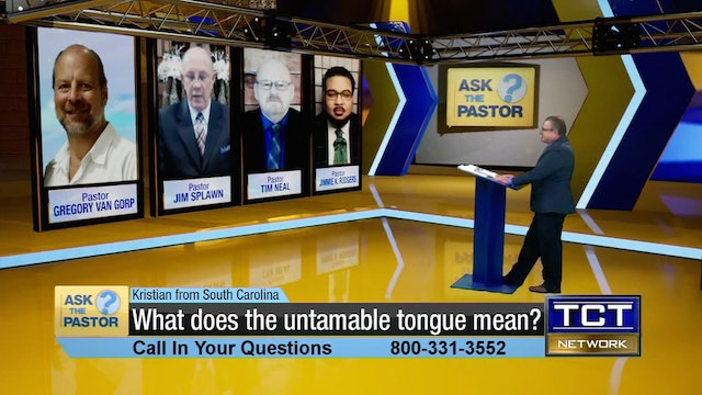 """What does the untamable tongue mean?"" 