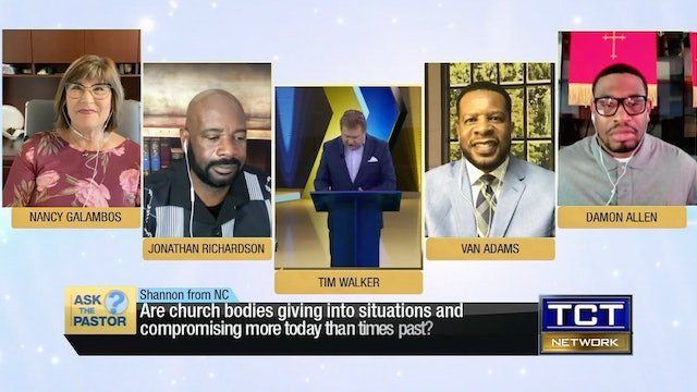 """""""Are churches compromising more today than in times past?"""" 