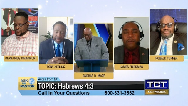 Topic Hebrews 4:3 | Ask the Pastor